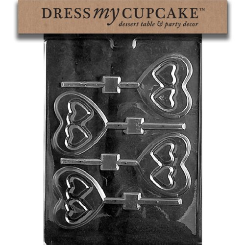 Dress My Cupcake Chocolate Candy Mold, Double
