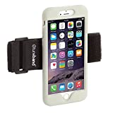 TuneBand LITE for iPhone 7 PLUS Premium Sports Armband with Silicone Skin and Armband (GLOW)