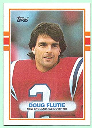 Doug Flutie 1989 Topps #198 - New England Patriots at