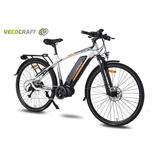 Veco Craft Helios M9Vélo électrique, Bike, E-Bike électronique, trekking pour Bike, 36V 250W bafang Max Mid Moteur