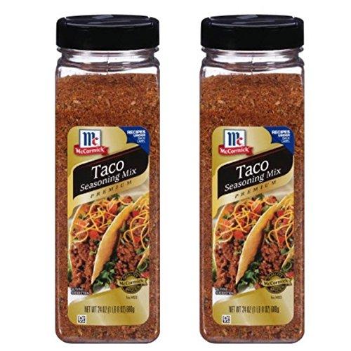 McCormick Premium Taco Seasoning Mix 24 oz (pack of 2) Mccormick Taco Seasoning