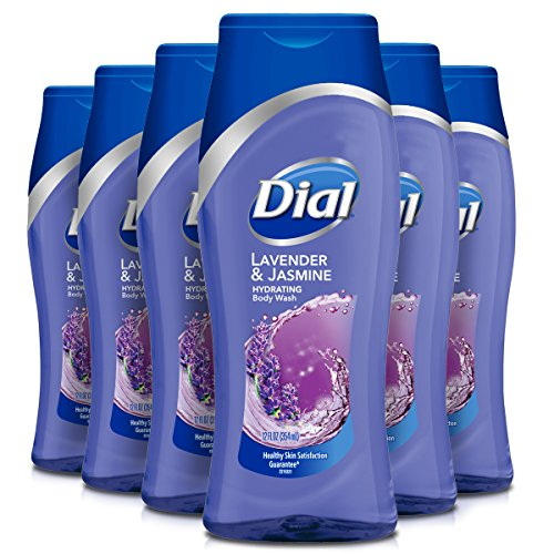 Dial Body Wash, Lavender Twilight Jasmine with All Day Freshness, 12 Fluid Ounces Pack of 6