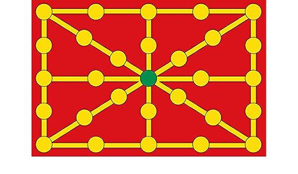 magFlags Bandera Large Navarra versión Antigua | Bandera Paisaje | 1.35m² | 90x150cm: Amazon.es: Jardín