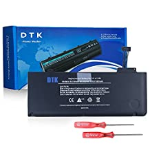 Dtk New Laptop Battery for Apple A1322 A1278 (2009 2010 2011 Version) Unibody Macbook Pro 13'', Fits Mb990/a Mb990ll/a Mb990j/a+two Free Screwdrivers