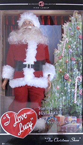 BARBIE I Love Lucy RICKY RICARDO as SANTA DOLL 'The Christmas Show' COLLECTOR EDITION (2008)