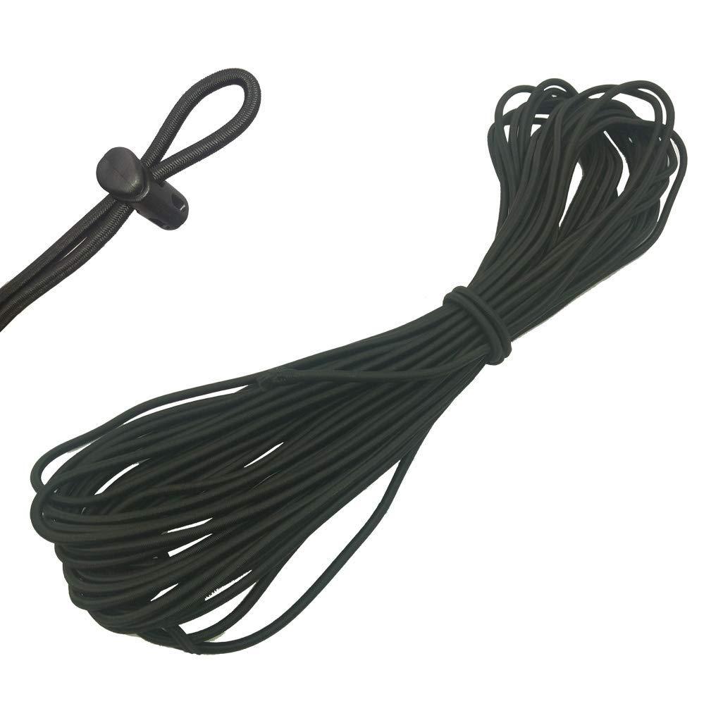 sac /à dos Lot de 30 bloqueurs de cordon /à ressort cordon de serrage cordon /élastique de 4,3 m de long pour lacets