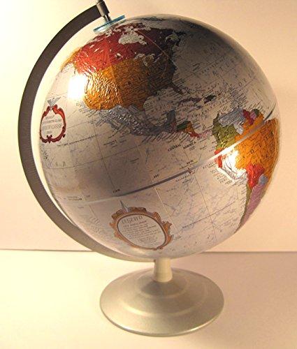 Replogle 12 Inch Diameter, Platinum Classic Series, World Globe (Replogle Globe Platinum compare prices)