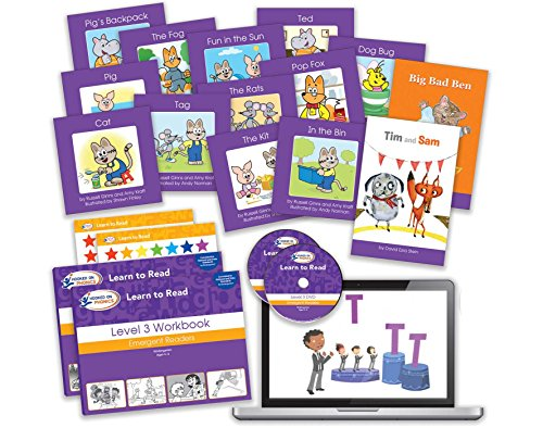 Hooked on Phonics Learn to Read - Levels 3&4 Complete: Emergent Readers (Kindergarten | Ages 4-6) (Learn to Read Complete Sets) by Hooked on Phonics (Image #2)