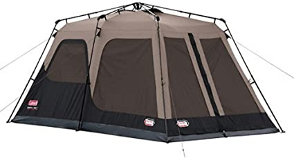 Coleman 8-Person Instant Tent Rainfly Accessory,Brown//Black