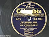 78rpm RONNIE RONALDE the windmill song / i found my romance in vienna