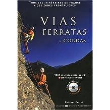 Vias Ferratas et Cordas (avec CD-Rom)