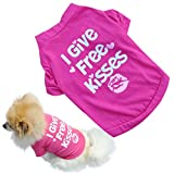 AutumnFall® Pet Dog Vest Clothes T-Shirt Cat Puppy Crown Shirt (S, ! Style-2)