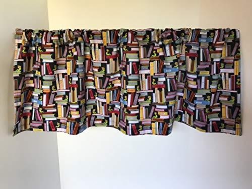 Valance Classroom Books Bookworm Teacher Decor Custom Made Window - Teachers Windows