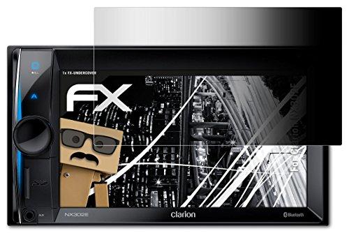 atFoliX Blickschutzfilter Clarion NX302E Blickschutzfolie - FX-Undercover 4-Wege Sichtschutz, Schutz vor neugierigen Blicken