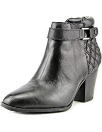 Womens WAKEFELD Leather Pointed Toe Ankle Cowboy Boots