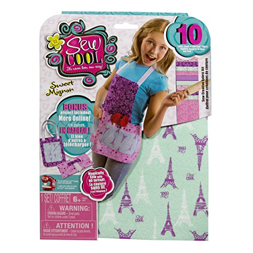Sew Cool Sweet Fabric Kit and Bonus Apron Project (Things That Start With J For Kids)