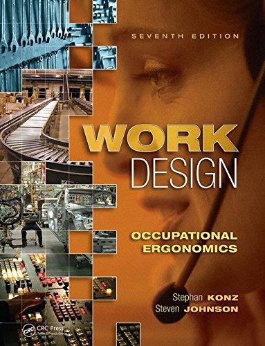 Work Design:Occupation.Ergonomics