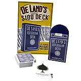 Magic Makers De Land's Original $100 Deck - Printed in Bicycle Stock
