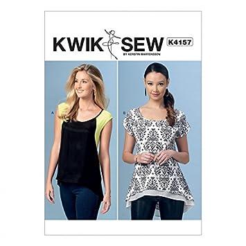 Kwik Sew Damen Schnittmuster 4157 Scoop Neck High Low Tops: Kerstin ...