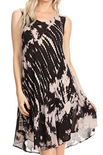 Women Long Sleeve Cotton Linen Casual Long Maxi Kaftan Hippie Dress - 6