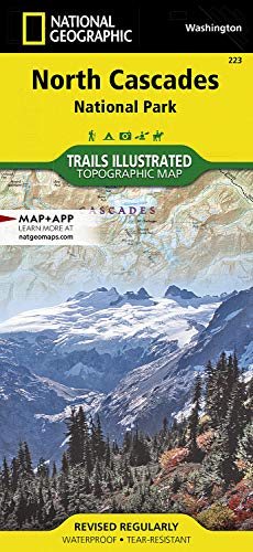North Cascades National Park (National Geographic Trails Illustrated ()