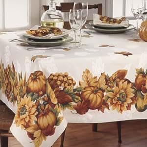 Amazon Com 60 X 102 Fall Gatherings Thanksgiving
