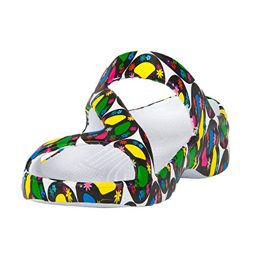 DAWGS Womens Arch Support Z Sandals Peace p3o1w25v