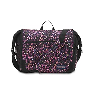 JanSport Elefunk Printed Backpack, Pink Pansy Ditzy Daisy
