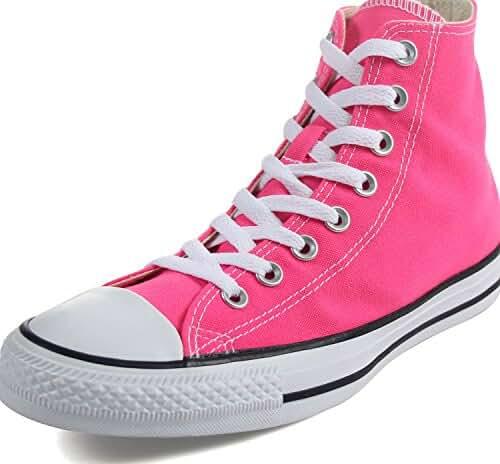 Converse Chuck Taylor All Star Seasonal High Top Fashion Shoe Pink Pow Men's Size