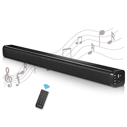 WHCCL Barra de Sonido, TV Altavoz Bluetooth Altavoces duales ...