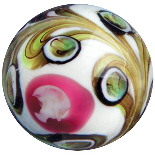 OnlineScienceMall Pegasus 22mm Handmade Art Glass Marble w -