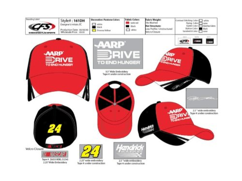 Jeff-Gordon-AARP-Drive-to-End-Hunger-24-Nascar-Hat