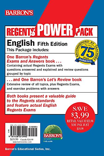 English Power Pack (Regents Power Packs)