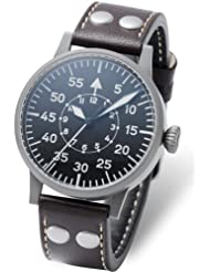 Laco Leipzig Type B Dial Swiss Mechanical Pilot Watch with Sapphire Crystal 861747