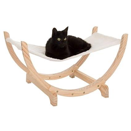 Cama de madera maciza Colchón de gato para dormir Colchonetas Colchoneta de gato Hamaca Colchón de