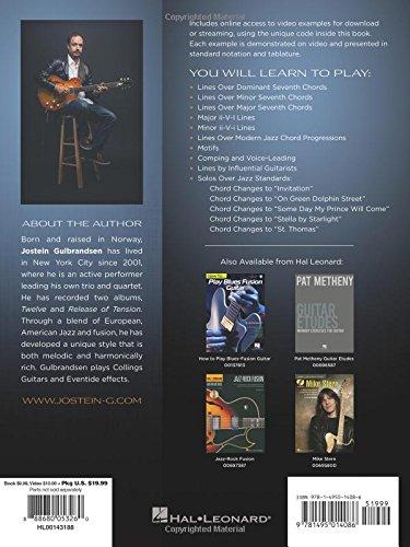 Jostein Gulbrandsen: Modern Jazz & Fusion Guitar Book/Online Audio ...