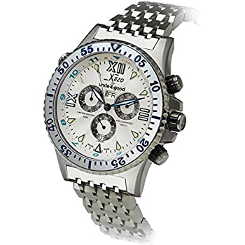 Xezo men s air commando swiss quartz luxury sport chronograph wrist watches 2nd for Xezo watches