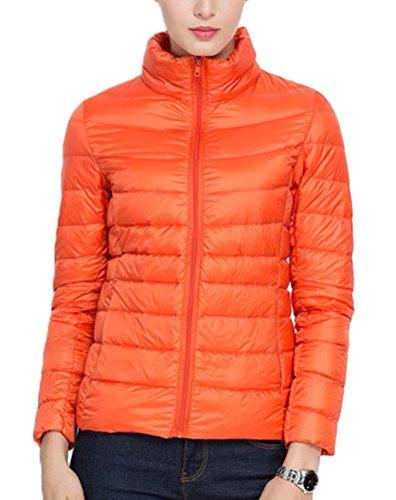 Manteau Hiver Col Orange Doudoune Brinny Blouson Duvet Rester FF0z6r