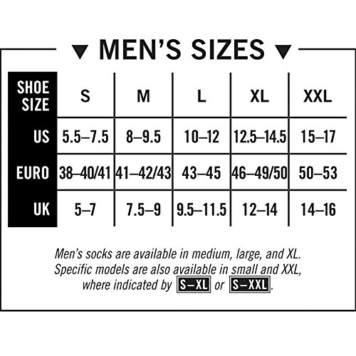 Darn Tough Hiker 1/4 Cushion Sock - Men's Black Medium by Darn Tough (Image #3)