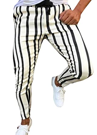ChengZhong Pantalones de Correr para Hombre, Pantalones de chándal ...