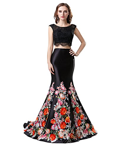 long black fitted prom dresses - 6