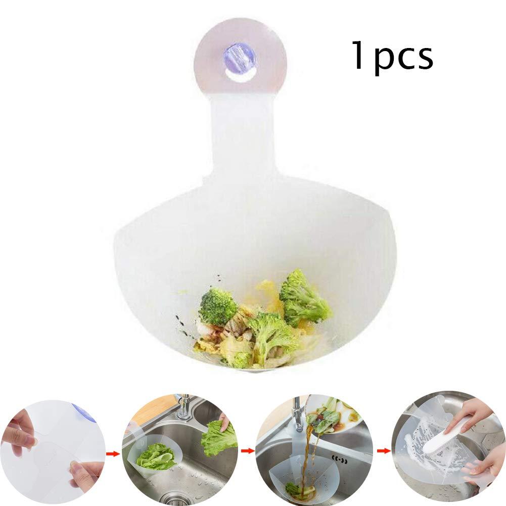 Filtre Auto-Debout Pliable /évier Bouchon Anti-Blocage Dispositif Flexible passoire Alimentaire pour la Cuisine 1pcs LXX Filtre Pliable /évier Simple