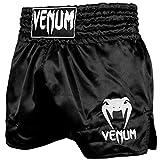Venum Muay Thai Shorts Classic - Black/White - L