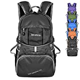 Bekahizar Lightweight Backpack 35L Foldable Hiking Day Pack...