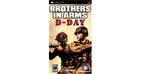 Amazon Com Brothers In Arms D Day Sony Psp Artist Not Provided Video Games