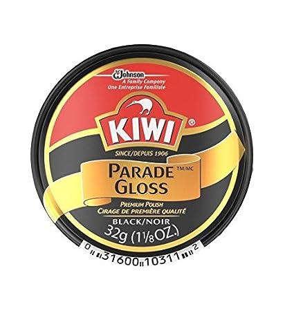 e7ae83bfcc732 Kiwi Parade Gloss Premium Shoe Polish Paste, 1-1/8 Ounce, Black - 3 Pack