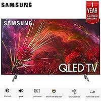 Samsung QN65Q8FNB 65 Q8FN Smart 4K Ultra HD QLED TV (2018) (QN65Q8FNBFXZA) with 1 Year Extended Warranty QN65Q8F QN65Q8 65Q8F 65Q8