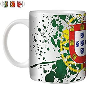 Portugal Flag Ceramic Tea/Coffee Mug