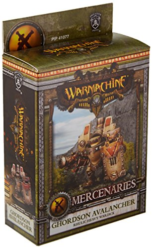 Privateer Press - Warmachine - Mercenary: Ghordson Avalancher Model Kit