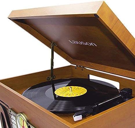 Lauson CL606 Tocadiscos Vintage 2 Altavoces Estéreo Integrado ...